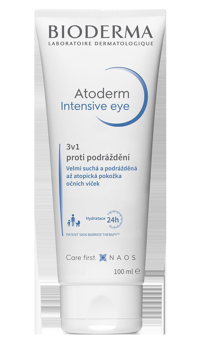 Nový pohled na podráždění očních víček:  Atoderm Intensive Eye.